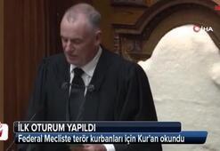 Federal Mecliste terör kurbanları için Kuran okundu