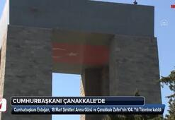 Cumhurbaşkanı Erdoğan Çanakkalede