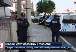 Denizli'de emlakçıyı öldüren şüpheliler, Aydın'da yakalandı
