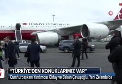 Katliamın sonrası Türk heyet Yeni Zelandada