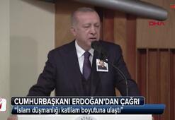 Cumhurbaşkanı Erdoğan: İslam düşmanlığı katliam boyutuna ulaştı