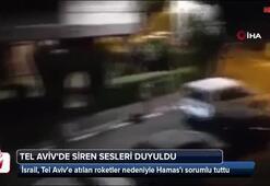 İsrail, Tel Avive atılan roketler nedeniyle Haması sorumlu tuttu