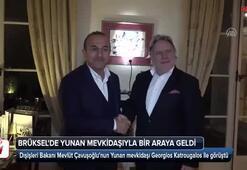 Çavuşoğlu, Brükselde Yunan mevkidaşıyla bir araya geldi