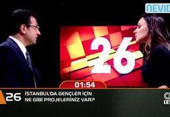 İstanbulda gençler için ne gibi projeleriniz var