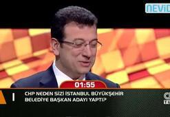 CHP neden sizi İstanbul Büyükşehir Belediye Başkan Adayı yaptı