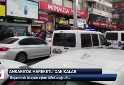 Ankara'da hareketli dakikalar