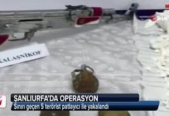 Bombalı eylem için sınırı geçen 5 terörist patlayıcı ile yakalandı