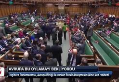 İngiliz parlamentosu Brexit anlaşmasını reddetti
