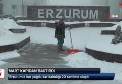 Erzurumda Mart kapıdan baktırdı