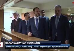 Bakan Albayraktan Kocaelide önemli ziyaretler