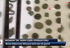 Aksarayda tarihi eser operasyou