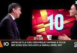 Antalya için 359 proje yapmak 4 yıllık için fazlasıyla iddialı değil mi