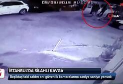 Beşiktaşta silahlı kavga