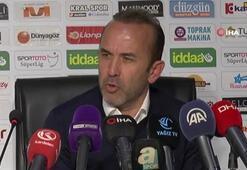"""Mehmet Özdilek: """"3 puanı kaybettiğimiz için üzgünüz"""""""