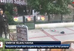İzmirde silahlı kavga