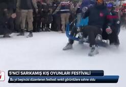 5. Sarıkamış Kış Oyunları Festivali başladı