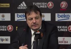 Ergin Ataman: Fenerbahçeyi tebrik ederim
