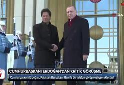 Cumhurbaşkanı Erdoğan, Pakistan Başbakanı ile görüştü