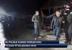 60 polisle kumar operasyonu: 47 gözaltı