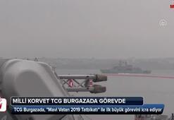 Milli korvet TCG Burgazada görevde