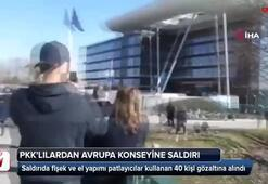 Terör örgütü yandaşları Avrupa Konseyine saldırdı: 43 gözaltı