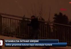 İstanbulda intihar girişimi