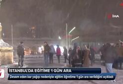 İstanbulda okullar yarın tatil edildi