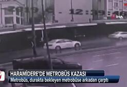 Haramiderede metrobüs kazası