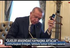 Cumhurbaşkanı Erdoğan, tatbikata katılan birliklere seslendi
