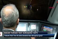 Bakan Turhan test sürüşünü yaptı