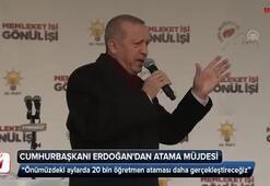 Cumhurbaşkanı Erdoğandan atama müjdesi
