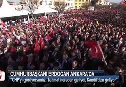 Cumhurbaşkanı Erdoğan Ankarada konuştu