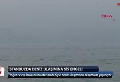 İstanbulda deniz ulaşımına sis engeli