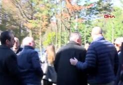 Aziz Yıldırım, Arda Turan ve Emre Belözoğlu cenazede bir araya geldiler