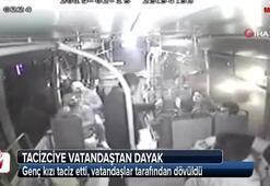 Genç kız bağırınca otobüstekiler taciz şüphelisini linç etti
