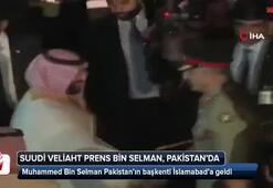 Suudi Arabistan Veliaht Prensi Pakistana gitti