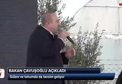 Bakan Çavuşoğlu açıkladı Gübre ve tohumda da tanzim geliyor