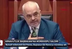 Arnavutluk Başbakanı Ramaya mürekkepli saldırı