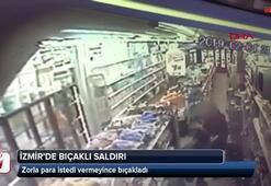 İzmirde bıçaklı saldırı