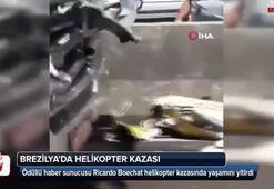 Brezilyada ödüllü haber sunucusu helikopter kazasında öldü