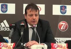 Ergin Ataman: Net bir galibiyet aldık