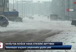 Doğu Anadoluda soğuk hava etkisini arttırdı