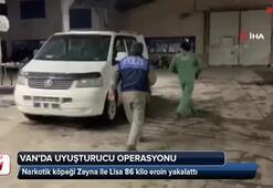 Narkotik köpeği Zeyna ile Lisa 86 kilo eroin yakalattı
