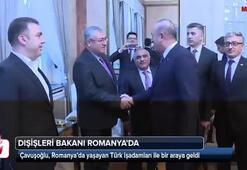 Çavuşoğlu, Romanyada Türk iş dünyası temsilcileri ile görüştü