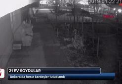 Ankarada hırsız kardeşler yakalandı