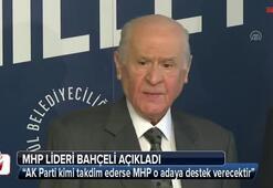 MHP lideri Bahçeliden açıklama
