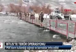 PKKlıların kullandığı sığınak ve barınaklar imha edildi