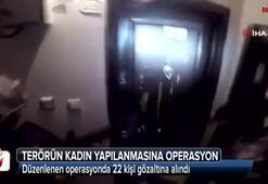 PKK/KCK'nın kadın yapılanmasına operasyon: 22 gözaltı