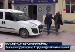 Şanlıurfada iki terörist yakalandı