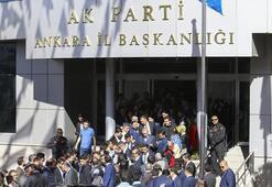 Cumhurbaşkanı Erdoğan, AK Parti Ankara İl Başkanlığını ziyaret etti